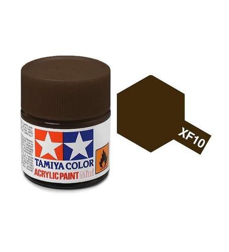Tamiya Acrylic: Flat Brown (XF10)