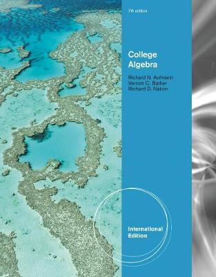 College Algebra, International Edition by Vernon C Barker image