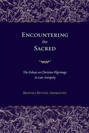 Encountering the Sacred by Brouria Bitton-Ashkelony image