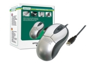 Digitus Wheel Optical 3 Button USB Mouse Silver/Black image