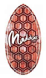 "Maddog: MSB130 - 41"" Skimboard Wedge (Red Hex)"