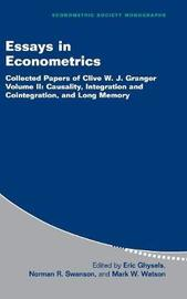 Essays in Econometrics: Series Number 33: Volume 2 by Clive W.J. Granger