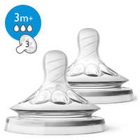 Philips Avent Natural Teat Medium Flow (2 Pack) image