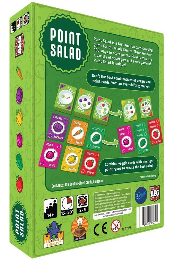 Point Salad - Card Game image