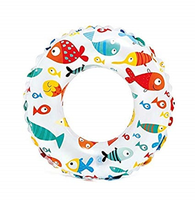 Intex: Lively Print Swim Ring - Fish