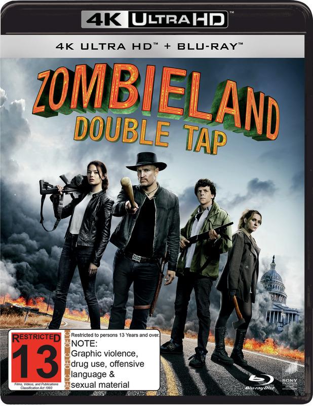 Zombieland: Double Tap (4K UHD) on UHD Blu-ray