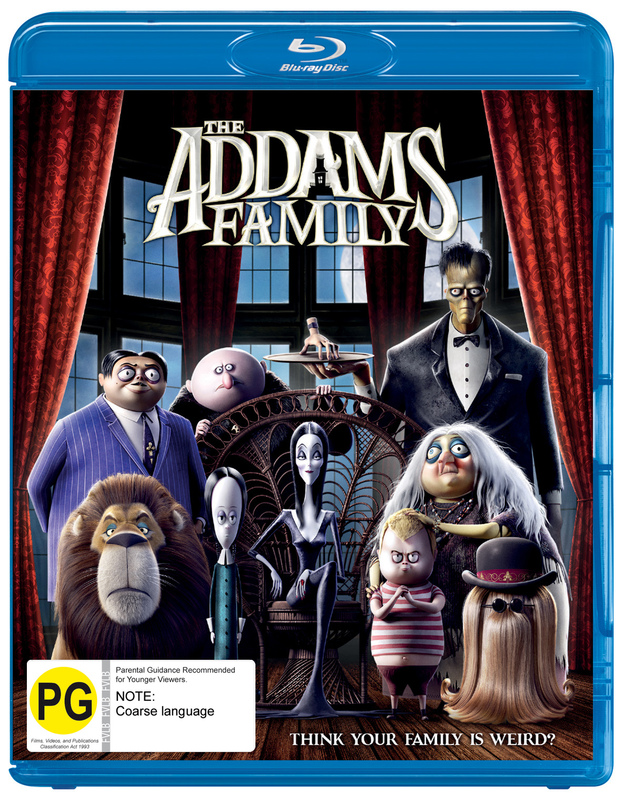 The Addams Family (2019) on Blu-ray