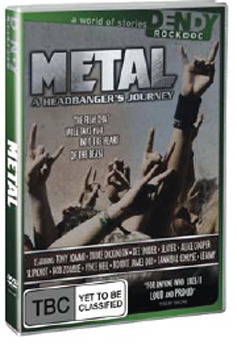 Metal - A Headbanger's Journey on DVD