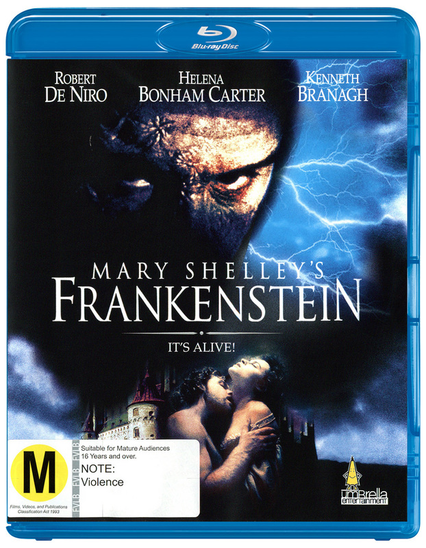 Mary Shelley's Frankenstein on Blu-ray