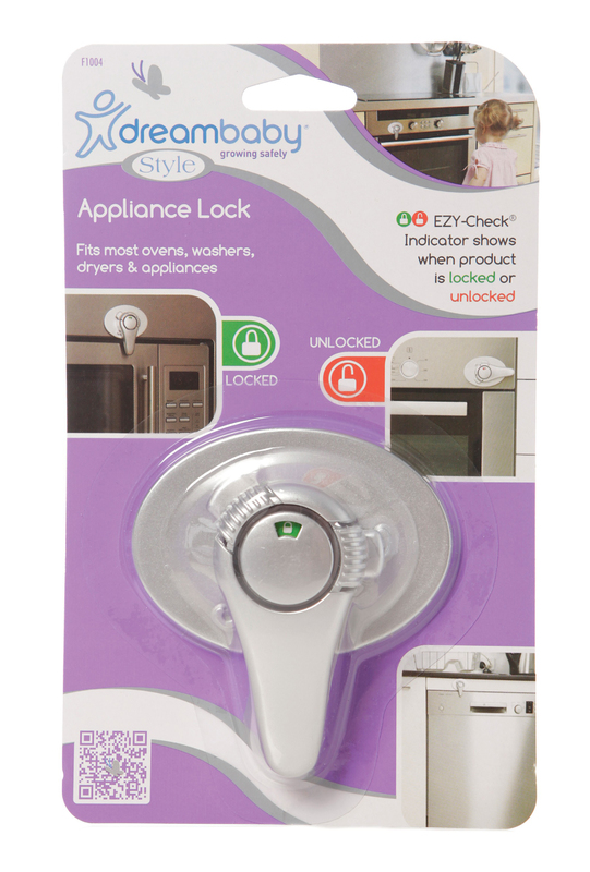 Dreambaby Ezy-Check Appliance Lock (Silver)
