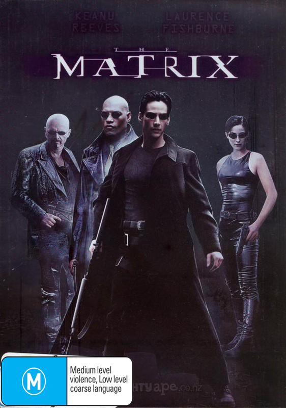 The Matrix on DVD