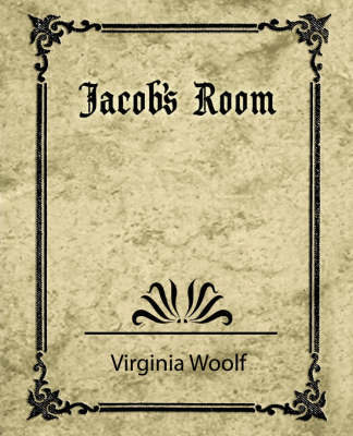 Jacob's Room by Woolf Virginia Woolf