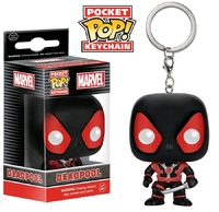 Marvel: Deadpool (Black Suit) - Pocket Pop! Key Chain