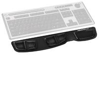Fellowes Keyboard Palm Support - Gel Clear - Black