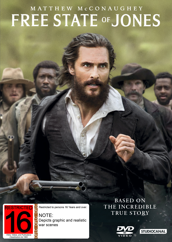 Free State of Jones on DVD image