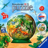 Ravensburger : Kingdom of the Dinosaurs Puzball 72pc