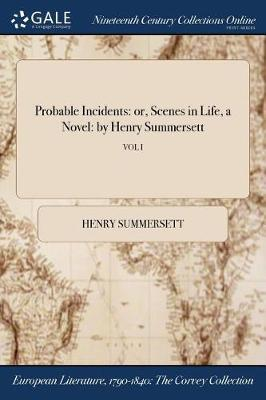 Probable Incidents by Henry Summersett image