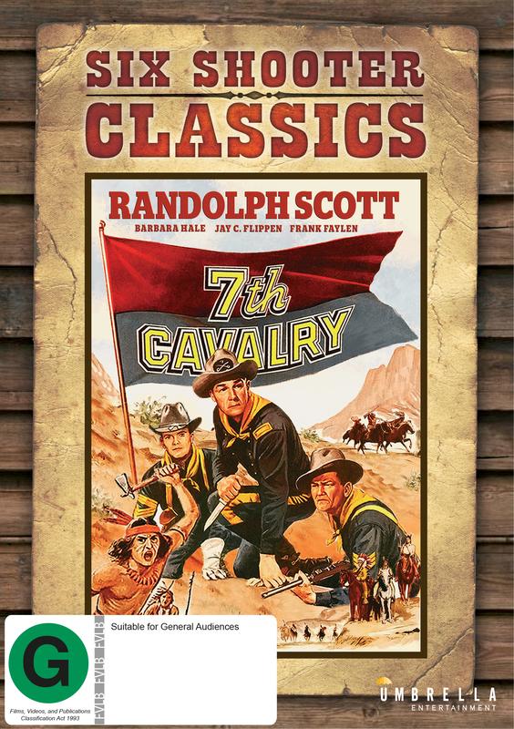 7th Cavalry (Six Shooter Classics) on DVD
