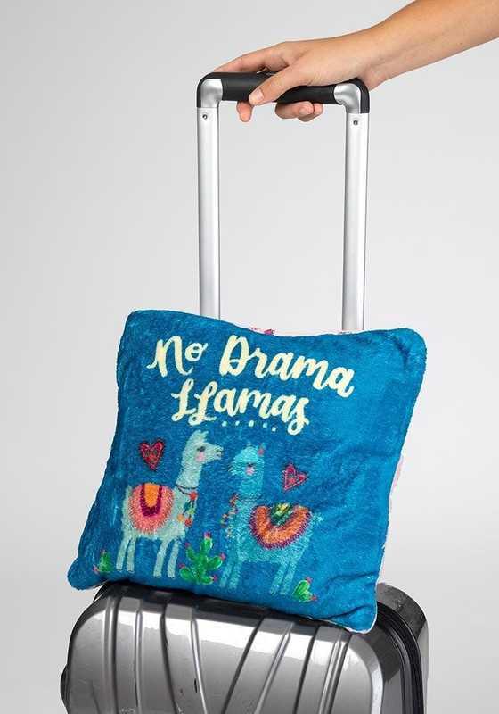 Natural Life: Blanket/Pillow - No Drama Llama