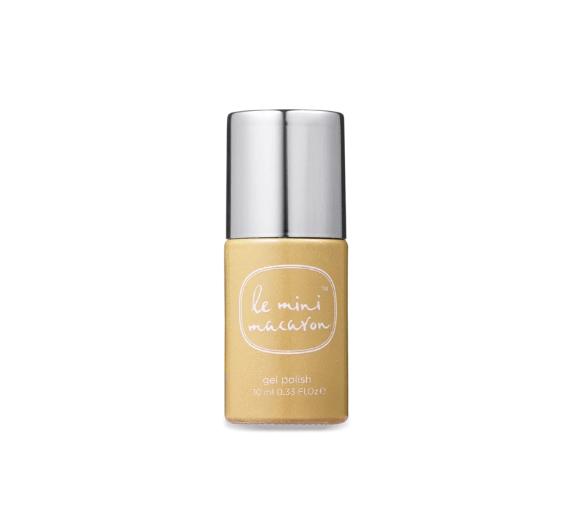 Le Mini Macaron Gel Nail Polish - Gold Glitter