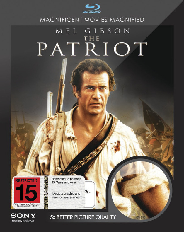 The Patriot on Blu-ray