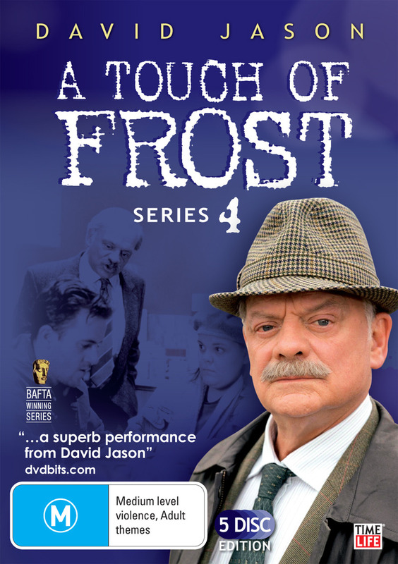 A Touch Of Frost - Series 4 (5 Disc Set) on DVD