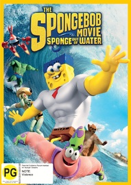 Spongebob Squarepants: Sponge Out Of Water on DVD