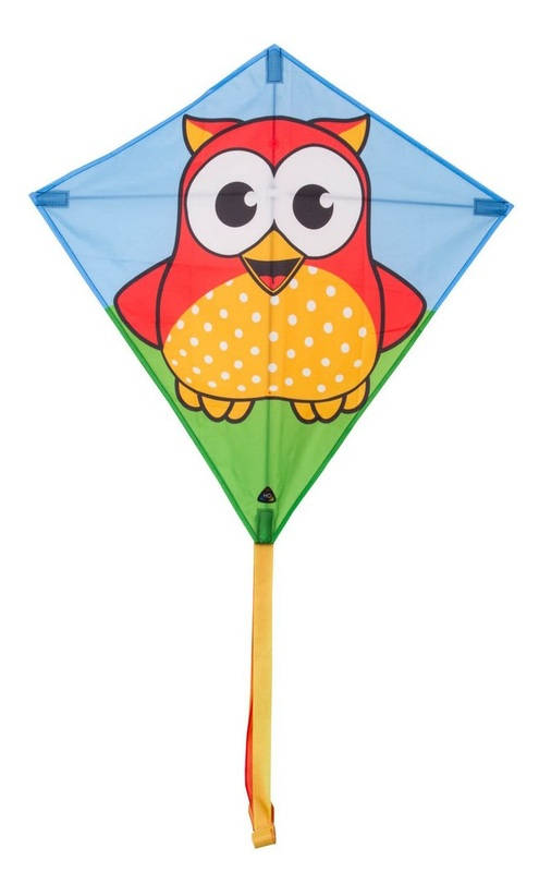 "HQ Kites: Eddy Owl - 27"" Diamond Kite"