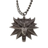 The Witcher 3: Wild Hunt Medallion and Chain with LED Eyes