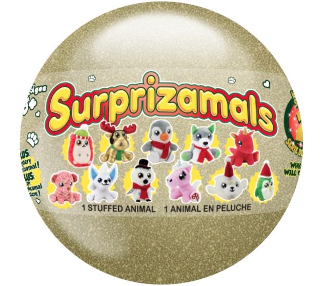 "Surprizamals: Cuties 2.5"" Plush - Christmas Edition (Blind Bag)"