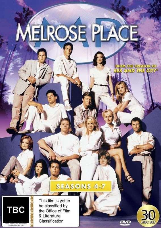 Melrose Place - Collection Two (Seasons 4-7) on DVD