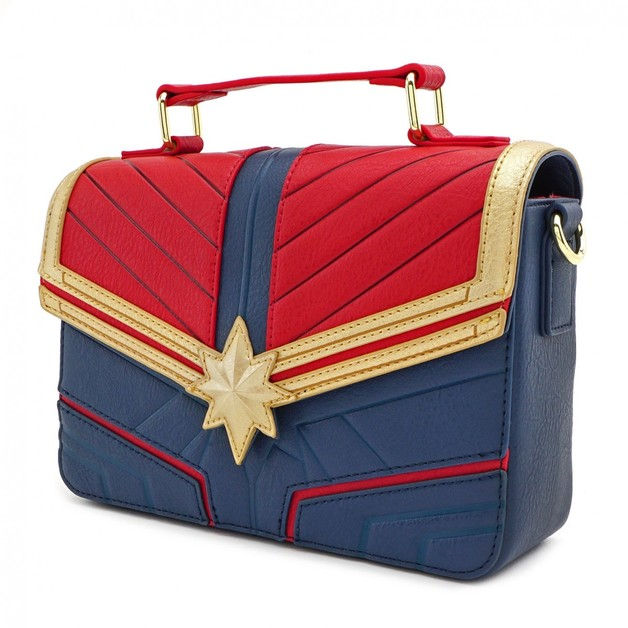 Loungefly: Captain Marvel - Costume Crossbody