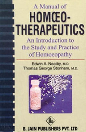 Manual of Homoeopathic Therapeutics by E.B. Nash image