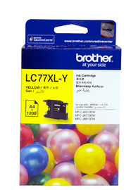 Brother Ink Cartridge LC77XLY (Yellow)