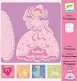 Djeco: Design - Princesses Stencils