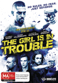 The Girl Is In Trouble on DVD