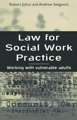 Law for Social Work Practice by Robert Johns image