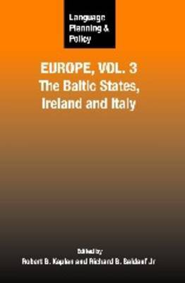 Language Planning and Policy in Europe, Vol. 3 image