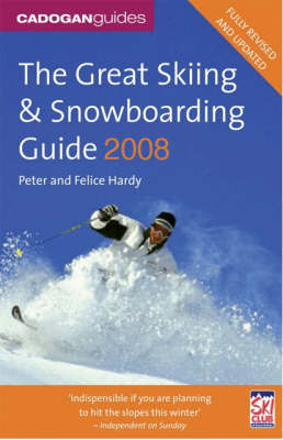 The Great Skiing and Snowboarding Guide by Peter Hardy image