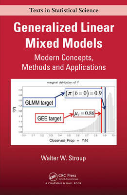 Generalized Linear Mixed Models by Walter W. Stroup