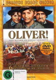 Oliver! - Deluxe Edition on DVD image
