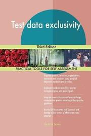 Test Data Exclusivity Third Edition by Gerardus Blokdyk image