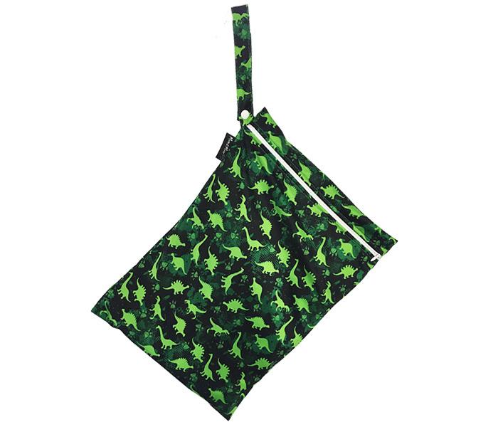 Mum 2 Mum: Wet Bag - Dinosaur / Lime (2 Pack) image