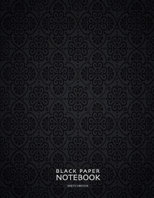 Black Paper Notebook Sketchbook by Ls Black Paper Press