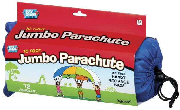 Toysmith: Jumbo Parachute (3m) - Assorted Colours