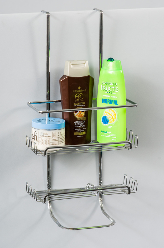 L.T. Williams - 2 Tier Chrome Shower Caddy