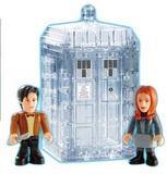 Doctor Who TARDIS Dematerialising Mini Set