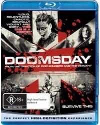 Doomsday on Blu-ray image