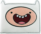 Adventure Time Finn White Wallet