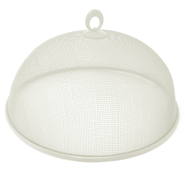 Round Mesh Food Cover (White)